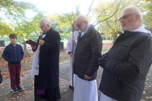 Procesja z okazji uroczystości Wszystkich Świętych 2017